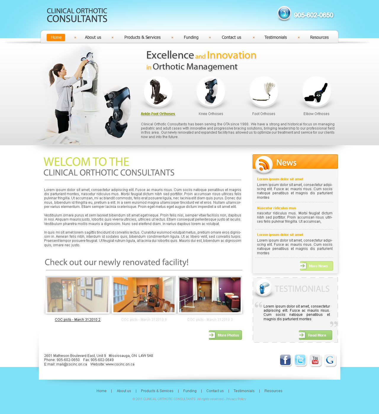 Clinical Orthotic Consultants